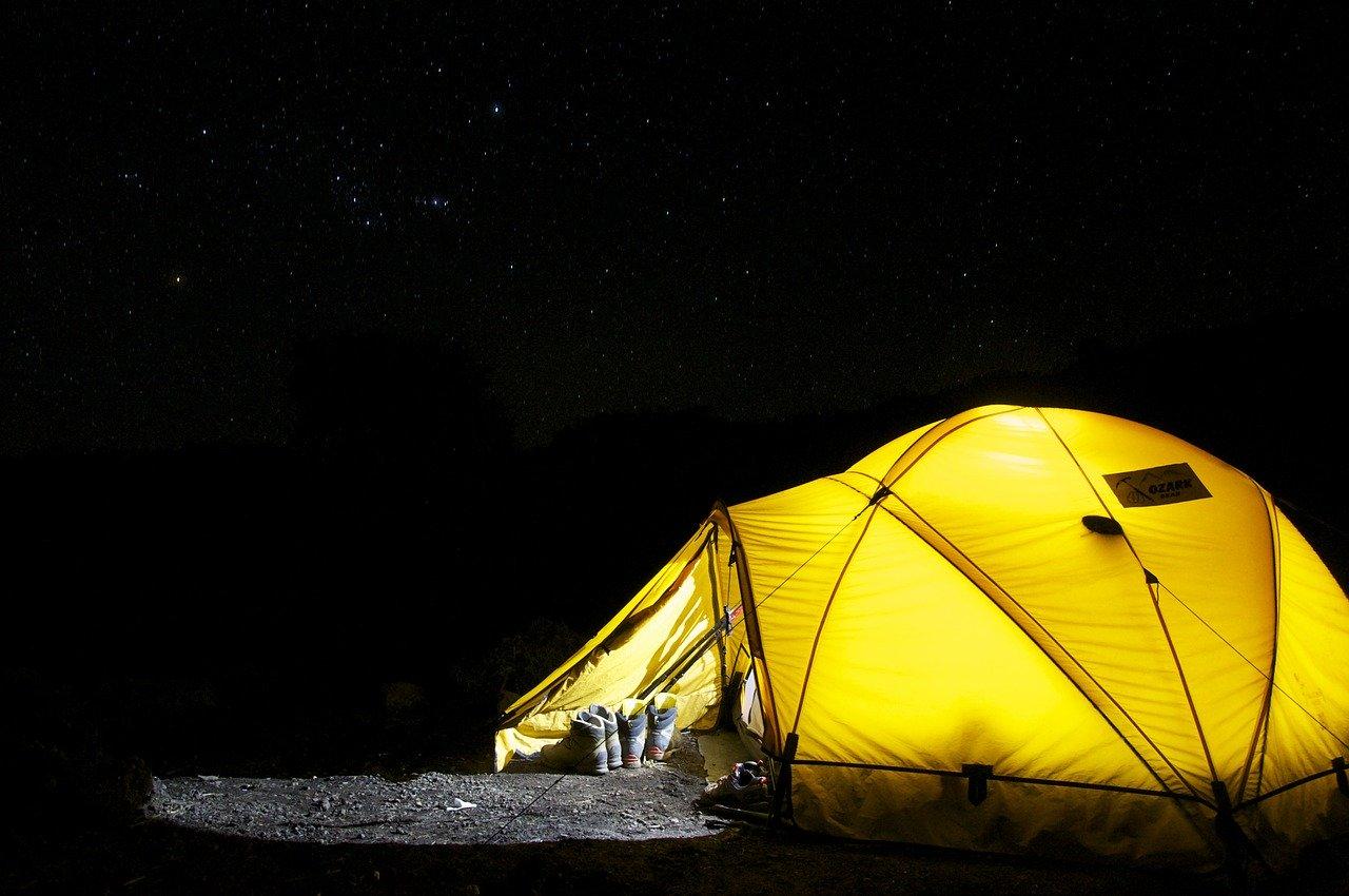 新しい趣味として、キャンプを始めたい